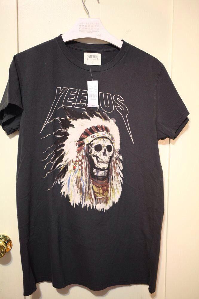 t-shirt Yeezus Tour ✅