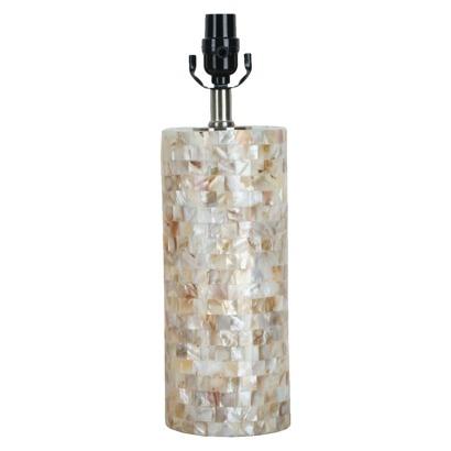 threshold lamp base capiz shell m dream home. Black Bedroom Furniture Sets. Home Design Ideas