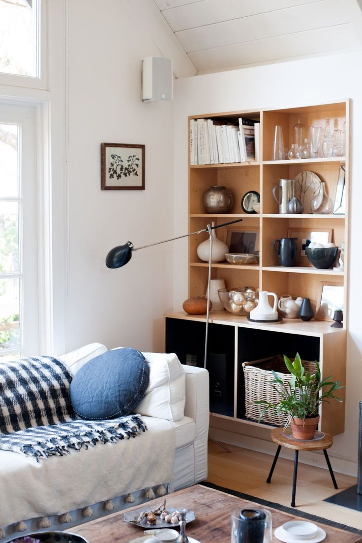 """The Secret To Making Your Small Space Seem HUGE  #refinery29  http://www.refinery29.com/paint-tricks-decor#slide-7  A No-Fail Choice Is Eggshell""""If you're looking for something subtle and forgiving on an imperfect wall, a matte or eggshell finish is the way to go,"""" says Andrea Mango, color and design expert at Benjamin Moore. """"The look of a glossy finish will be more bold and dramatic in a room, due to the reflectance of light, so this finish is often seen in spaces where there is a strong…"""