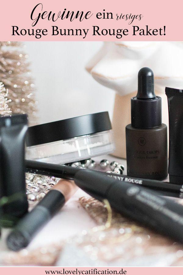 ♥♥♥ Gewinnt ein großes Paket von Rouge Bunny Rouge hinter dem heutigen Türchen auf Lovelycatification.de ♥♥♥ #makeup #rougebunnyrouge #gewinnspiel