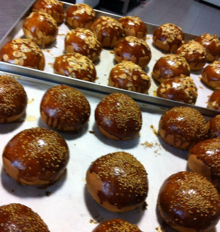 Eccoli i nostri panini appena sfornati! Buon pranzo!
