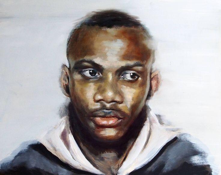 Te David O'Brien Ireland Painting Size: 15.7 H x 19.7 W x 0.4 in
