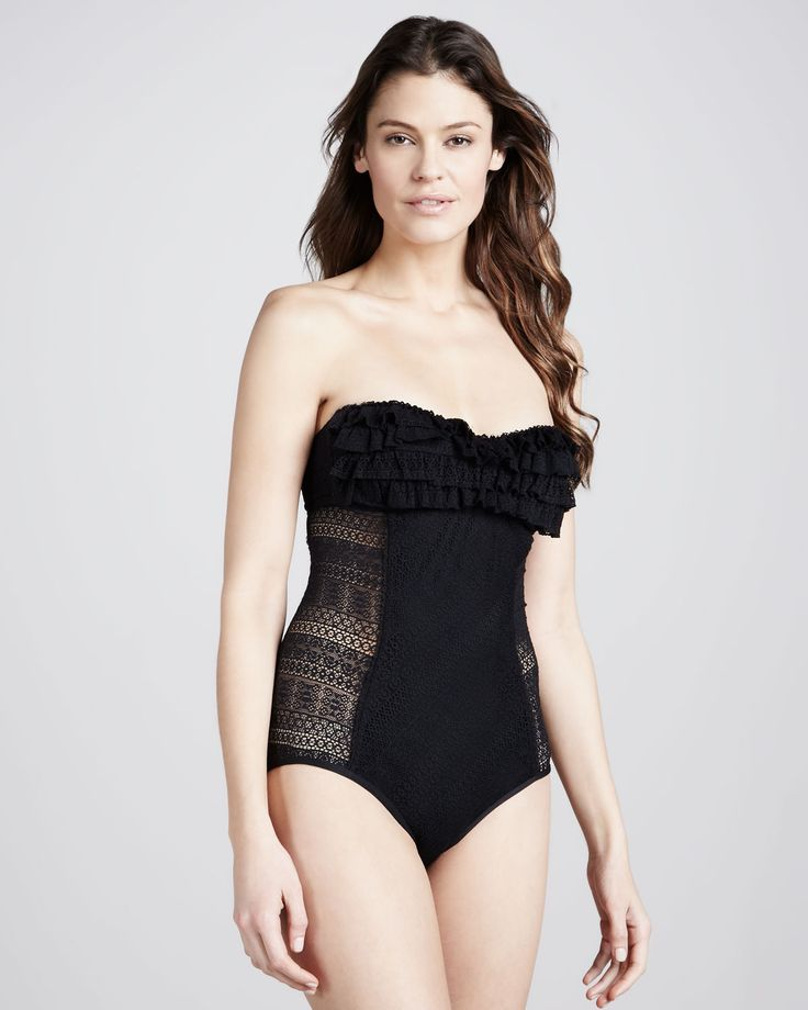 Juicy Couture | Prima Donna Ruffled One-Piece Swimsuit - CUSP...with a few alterations