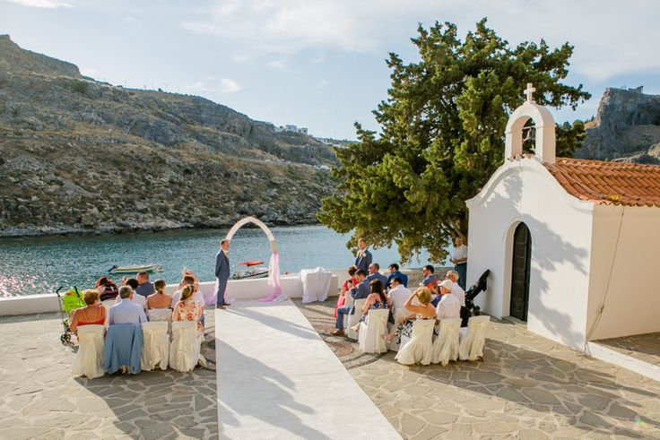 St Paul's Chapel weddings in Rhodes by The Bridal Consultant