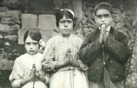 The 3 visionary children of Fatima: The Three Secrets of Fátima consist of a series of Apocalyptic visions and prophecies given by an apparition of the Blessed Virgin Mary to three young Portuguese shepherds, Lúcia Santos and her cousins Jacinta and Francisco Marto, starting on 13 May 1917. The three children were visited by a Marian apparition six times between May and October 1917. The apparition is now popularly known as Our Lady of Fátima.