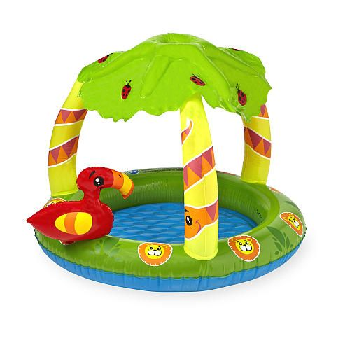 """Sizzlin' Cool Friendly Jungle Canopy Play Pool -  Toys R Us - Toys""""R""""Us"""