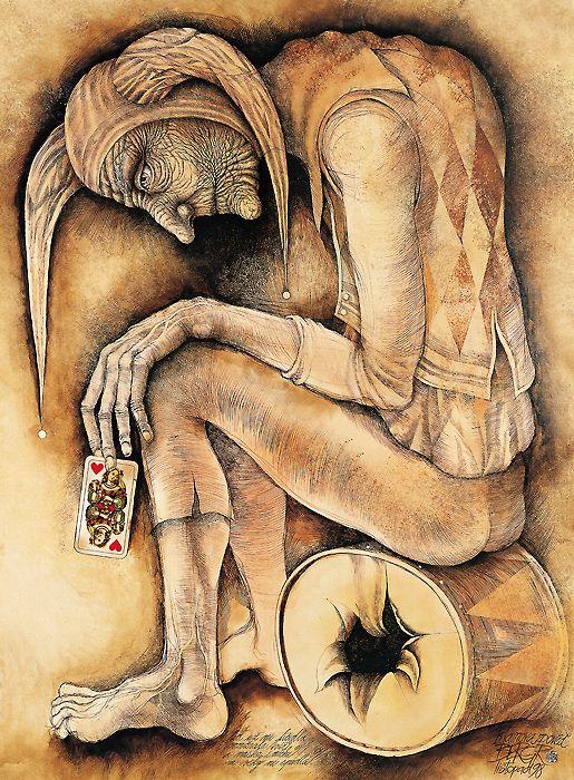 Klaunova zpověď (Clown Confession)  by Pavel Bergr