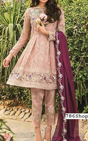 f37646565f Tea Pink Chiffon Suit | Buy Coir Pakistani Dresses and Clothing online in  USA, UK