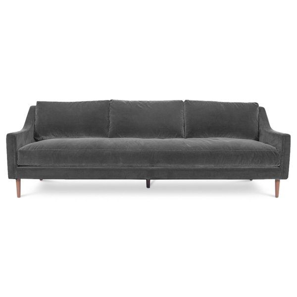 96 Wide Square Arm Sofa Sofa Modern Sofa Bed Furniture