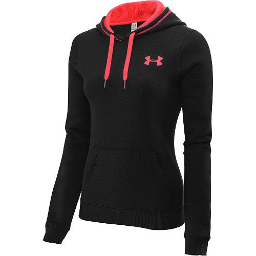 UNDER ARMOUR Women's Rival Cotton Pullover Hoodie