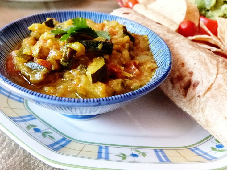 easy zucchini curry