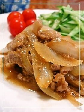 玉ねぎも一緒に✿豚の生姜焼✿ by みどふぁどベシ [クックパッド] 簡単おいしいみんなのレシピが244万品