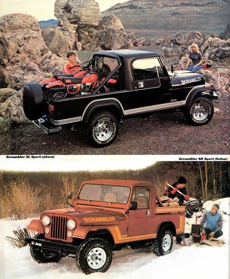 AMC (American Motors Corporation) Jeep CJ-8 Scrambler