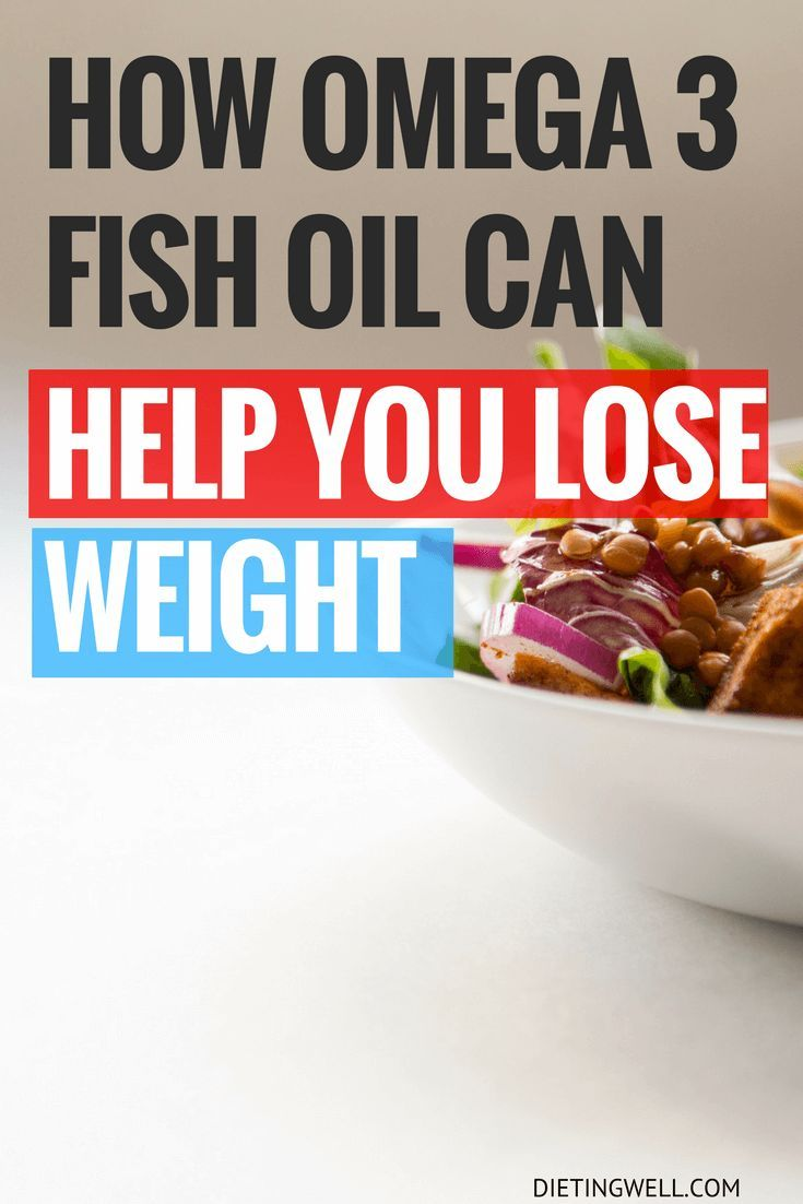 How Omega 3 Fish Oil Can Help You Lose Weight