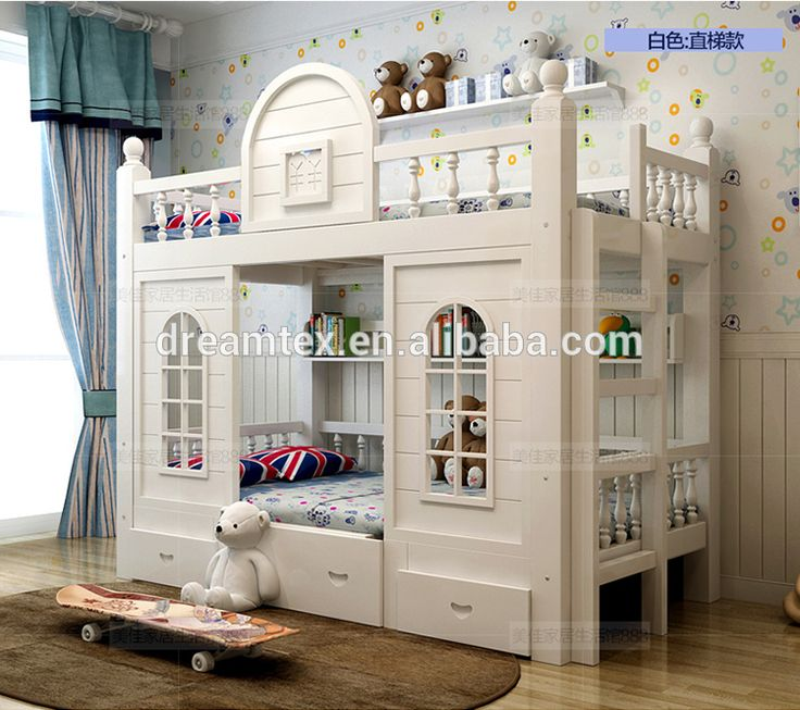 Source Kids double deck bed wood kids bunk bed solid wood bed with stairs on m.alibaba.com