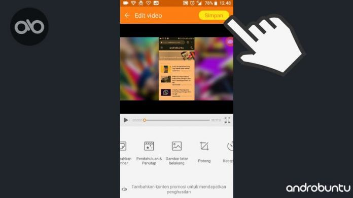 Cara Membuat Background Video Di Android Menggunakan Du Recorder Android Aplikasi Video