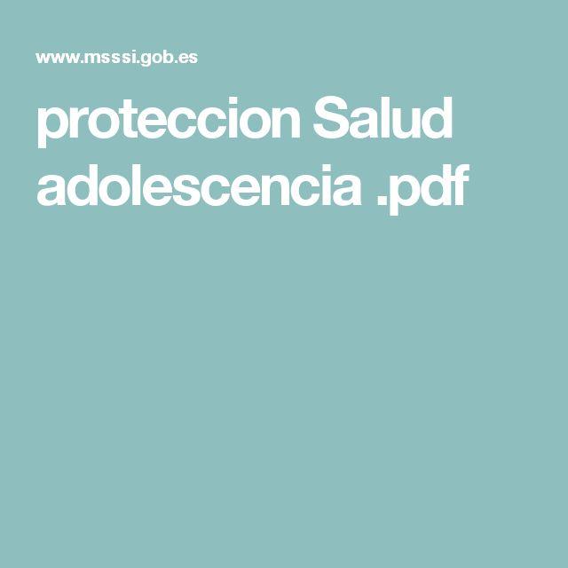 proteccion Salud adolescencia .pdf