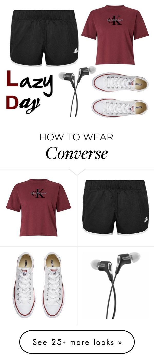 """Untitled #113"" by kb1934733 on Polyvore featuring Calvin Klein, adidas and Converse"