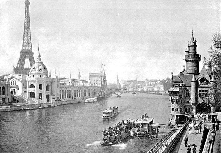 Les bords de Seine - Expo universelle 1900