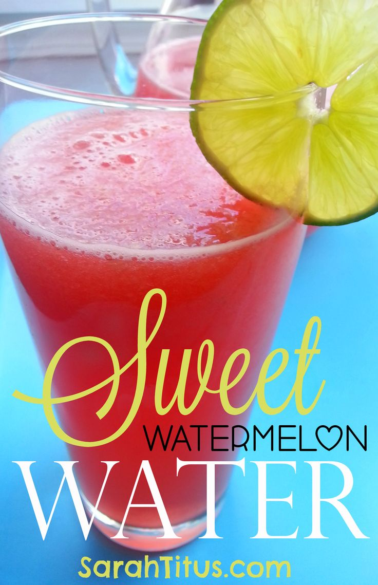 I hate drinking plain water, but soda and flavored water sweeteners wreck our bodies. This super quick and easy recipe is the perfect compromise! Sweet Watermelon Water