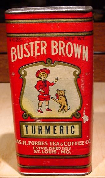 Rare Vintage Spice Tins | RARE Antique Buster Brownturmeric Pure Spice Tin 1800'S | eBay