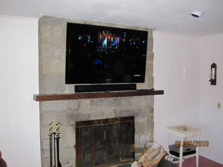 CT – TV installation over fireplace | New House | Pinterest | Tv installation and House
