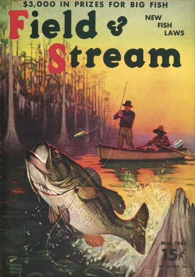 May 1942 Field and Stream cover