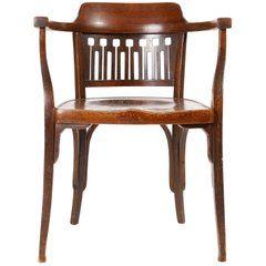 Otto Wagner Chair Armchair By J J Kohn Austria Vienna