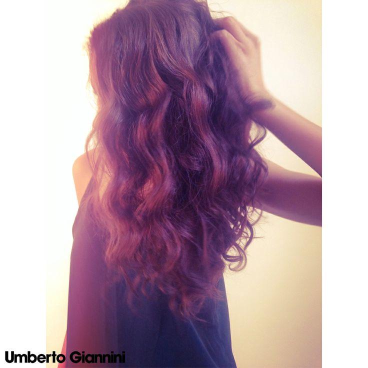 Umberto Giannini hair using Umberto Giannini Curl Friends range