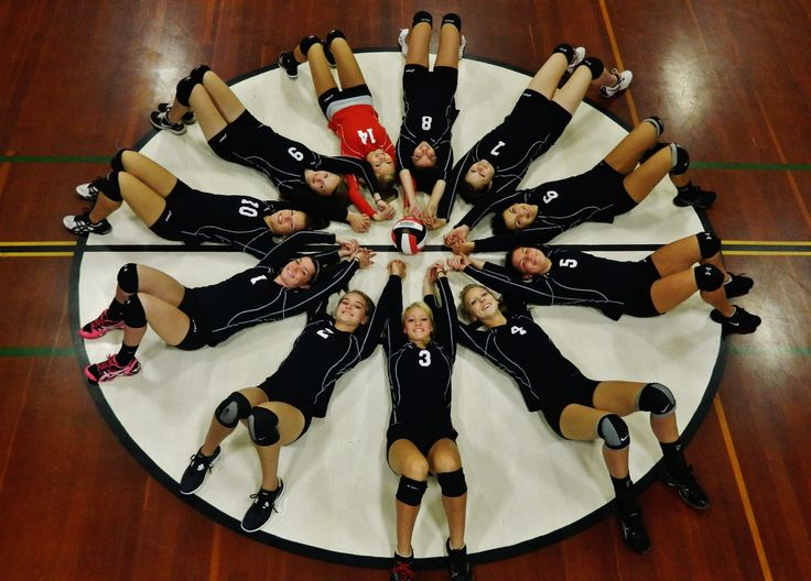 Volleyball Team Picture Pose Ideas