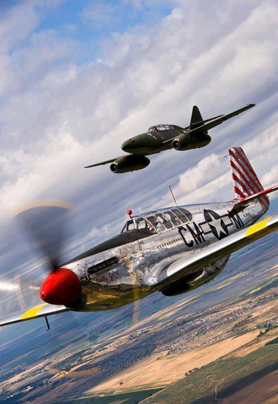 P 51 & Me 262