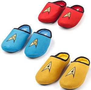 Star Trek The Original Series Slippers (in men and women's sizes)