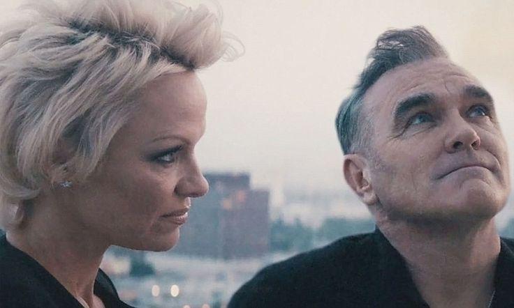 Morrissey unveils spoken word video starring Pamela Anderson