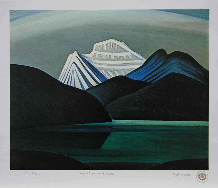 Mountains and Lake -  Lawren Harris