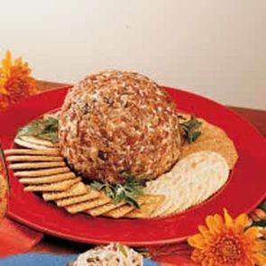 Braunschweiger Cheese Ball - Try with Jones Braunschweiger