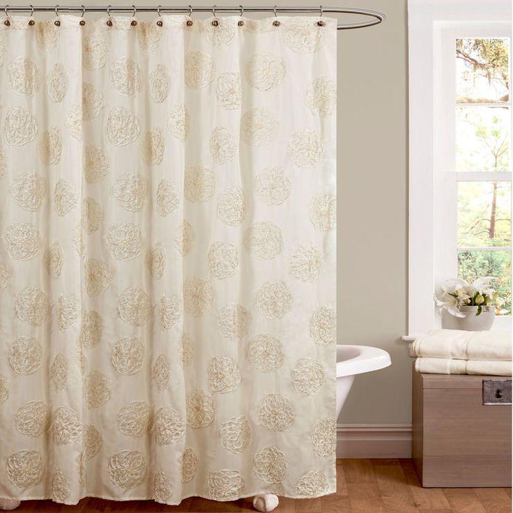 Ivory Samantha Show Curtain