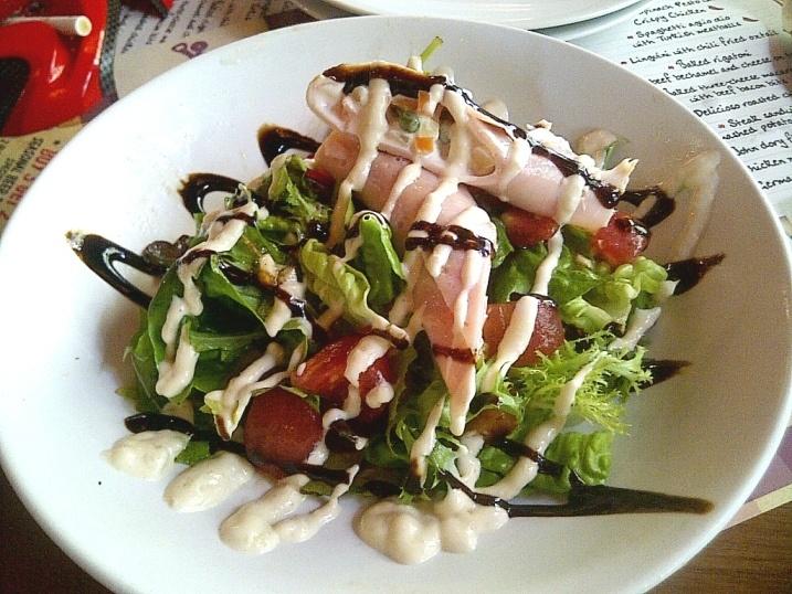 Baldy Special Salad at E'Birra