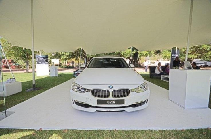 Nomadik Stretch Tents: BMW launch