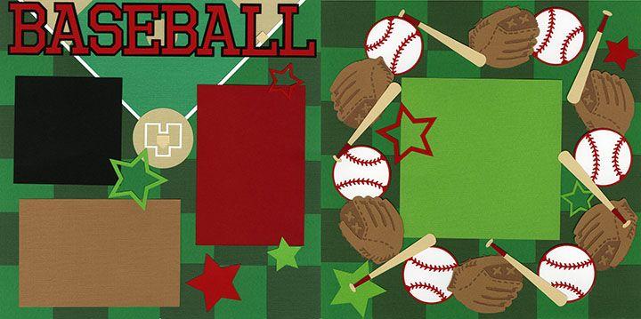 Baseball Kitmas Kit 1217   Out On A Limb Scrapbooking