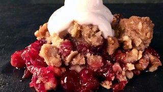 Cranberry Crumble Recipe | The Chew - ABC.com