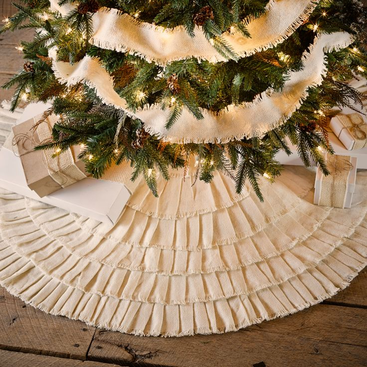 Image result for farmhouse tree skirt