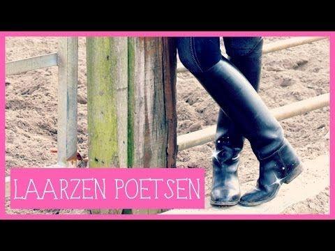 Laarzen poetsen   PaardenpraatTV - YouTube