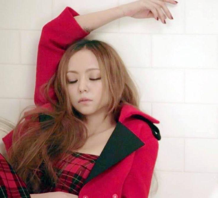 """Namie Amuro promoting her album """"Ballada"""""""