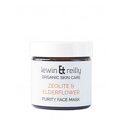Lewin and Reilly Organic Skin Care Zeolite and Elderflower Purity Face Mask 70g