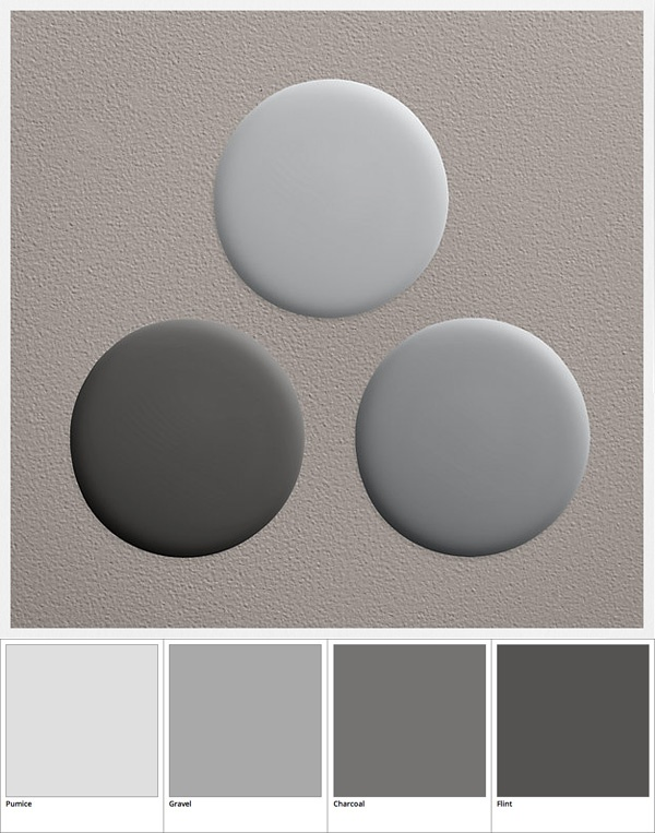 Paint Flint Collections Grays 4 95 39 Restoration Hardware Pumice Gravel Charcoal The C Decor Colors Textures
