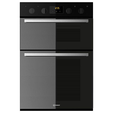 Buy Indesit IDD6340 Built-In Electric Double Oven Online at johnlewis.com