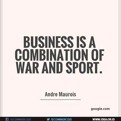 #Ecommerce Business is a combination of war and sport. - André Maurois http://pic.twitter.com/NWgP8g4XZV  Asosiasi E-Commerce (EcommerceID) Septe   E-commerce fan (@E______commerce) September 14 2016