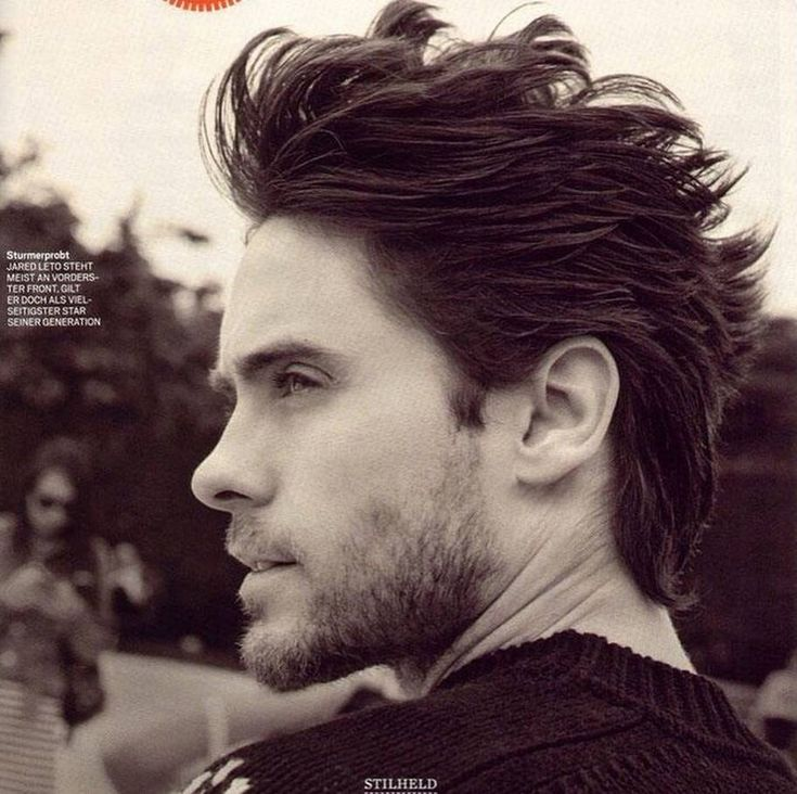 Jared Leto with short hair!