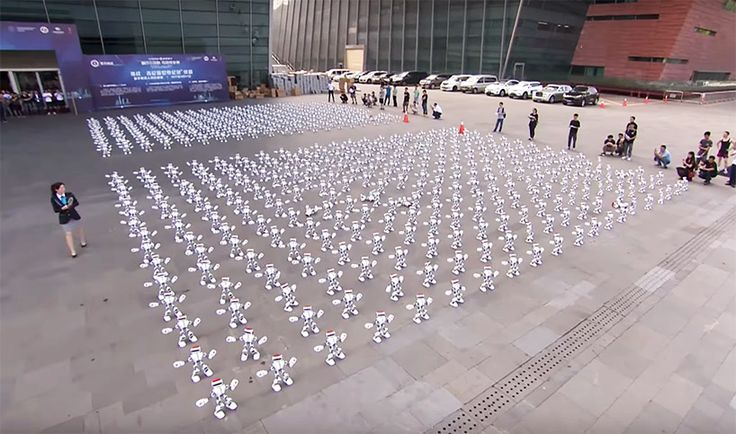 Wish I had extra time to do this. LOL.  1,069 robots dance simultaneously to break world record.  https://link.crwd.fr/23HM
