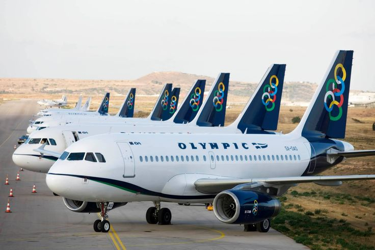 Olympic air, Spata airport of Athens - Greece